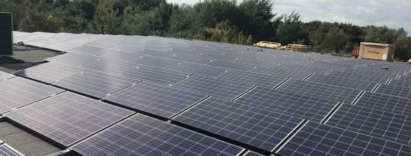 Project zonnepanelen Cakebakkerij van der Spoel