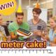 win een logocake van 1 meter